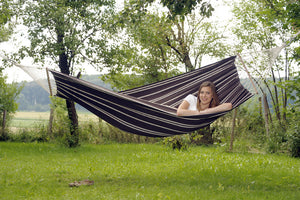 Amazonas Brasilia Mocca Hammock with Spreader Bar