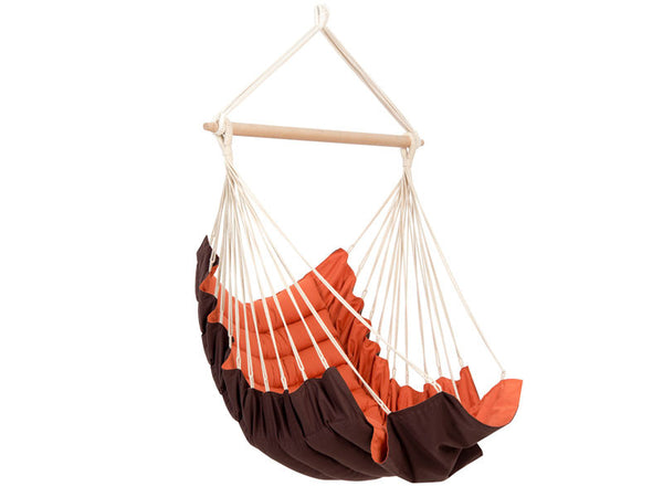 Empty California Terracotta Hanging Chair