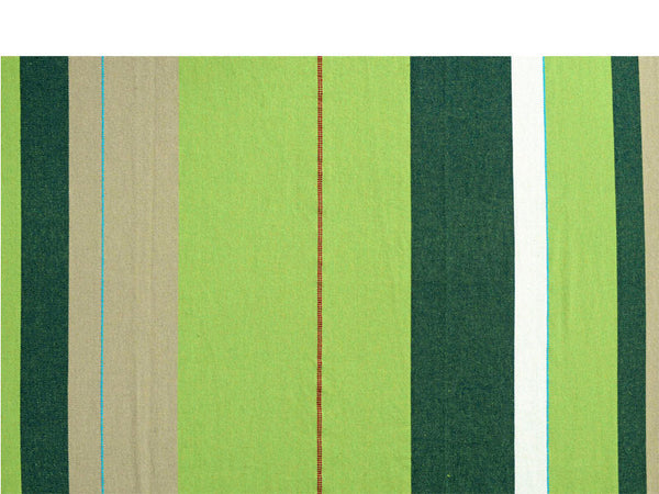 Swatch for green striped Olivia Colombia hammock