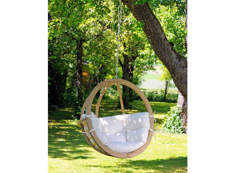 Well-known Single Natura Wooden Swing Chair | Globo | Hammock Barn CV99