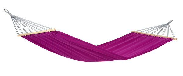 Empty Berry purple Miami hammock.