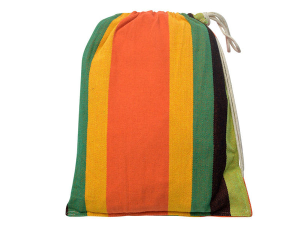Cotton packaging bag for esmerelda Paradiso hammock.