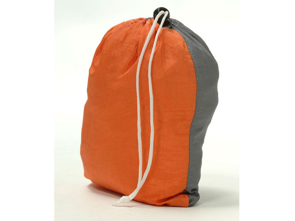 Packaging for Silk Traveller Hammock Techno Orange Grey.
