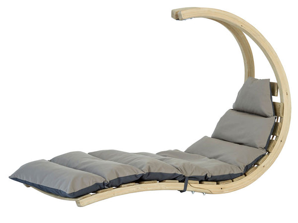 Wooden Swing Lounger Anthracite