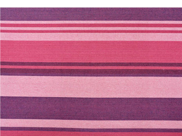 Colour swatch for purples striped Tahiti Candy hammock