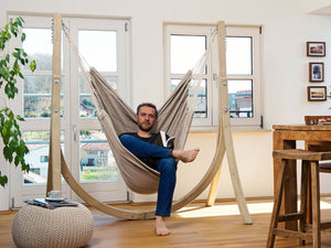 Amazonas Brasil Hanging Chair with Taurus Stand Set  (in 9 colours)