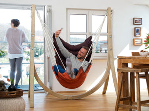 Amazonas California Hanging Chair with Taurus Stand Set