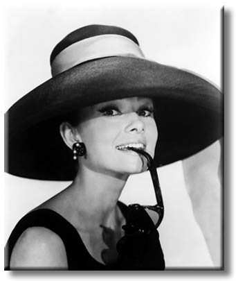 Breakfast at Tiffany`s Romantic Comedy Film Picture on Stretched Canvas, Wall Art Décor, Ready to Hang
