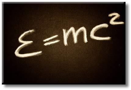 Einstein E=Mc2 Picture on Stretched Canvas, Wall Art Décor, Ready to Hang