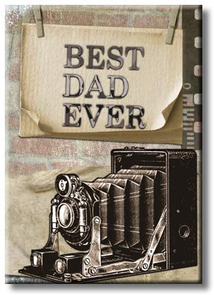 Best Dad Eve Picture on Stretched Canvas, Wall Art Décor, Ready to Hang