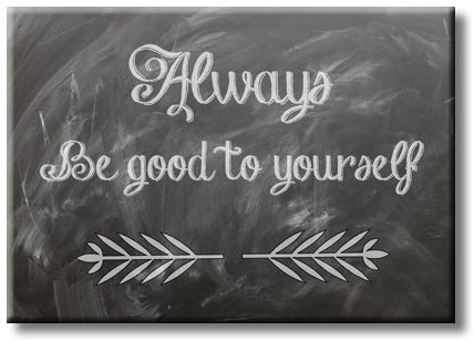 Always Be Good Motivation Picture on Stretched Canvas, Wall Art Décor, Ready to Hang