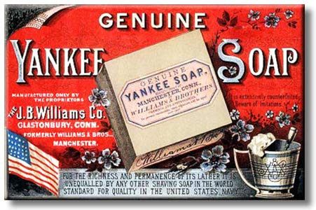 Genuine Yankee Soap Picture on Stretched Canvas, Wall Art Décor, Ready to Hang