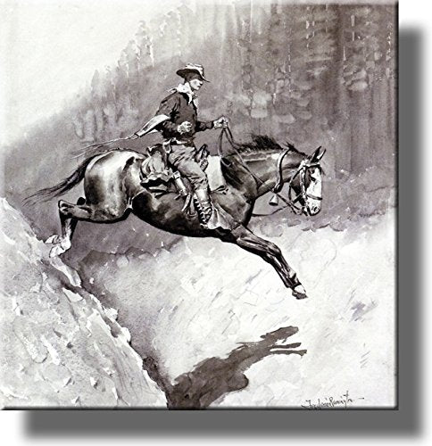 The Bell-Mare Over a Bad Place Picture on Stretched Canvas, Wall Art Décor, Ready to Hang!