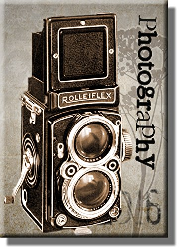Vintage Camera Photography Picture on Stretched Canvas, Wall Art Décor, Ready to Hang