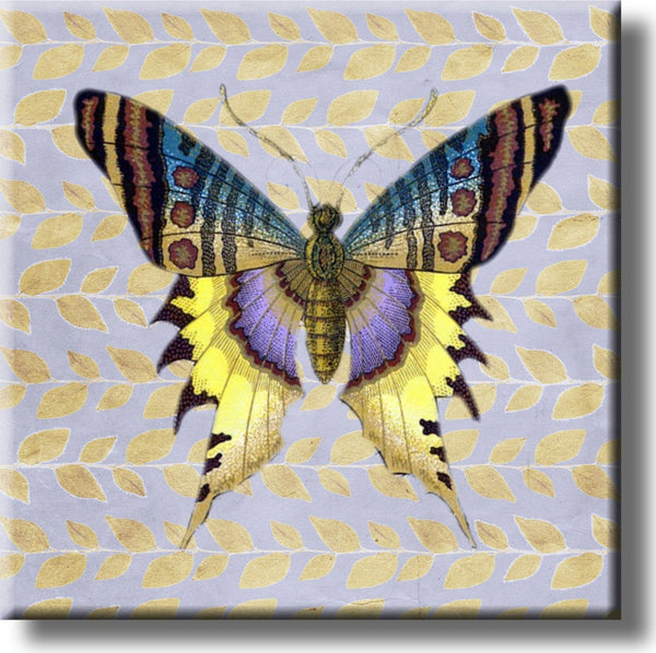 Beautiful Butterfly Picture on Stretched Canvas, Wall Art Décor, Ready to Hang