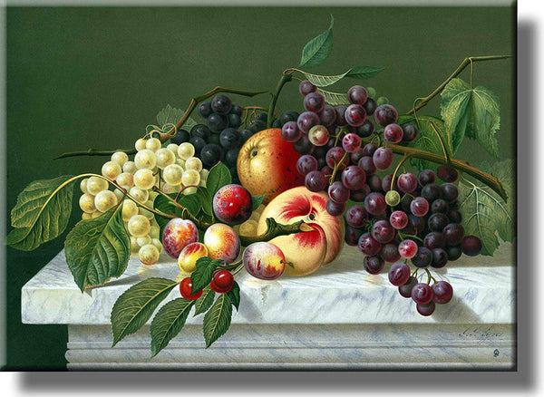 Fruits Art Picture on Stretched Canvas, Wall Art Décor, Ready to Hang!