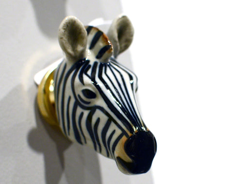 Zebra Doorknob : And Mary