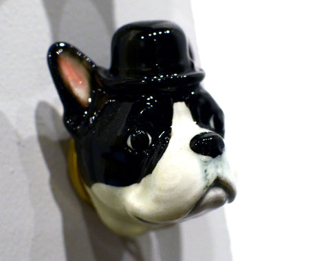 Boston Terrier Doorknob : And Mary
