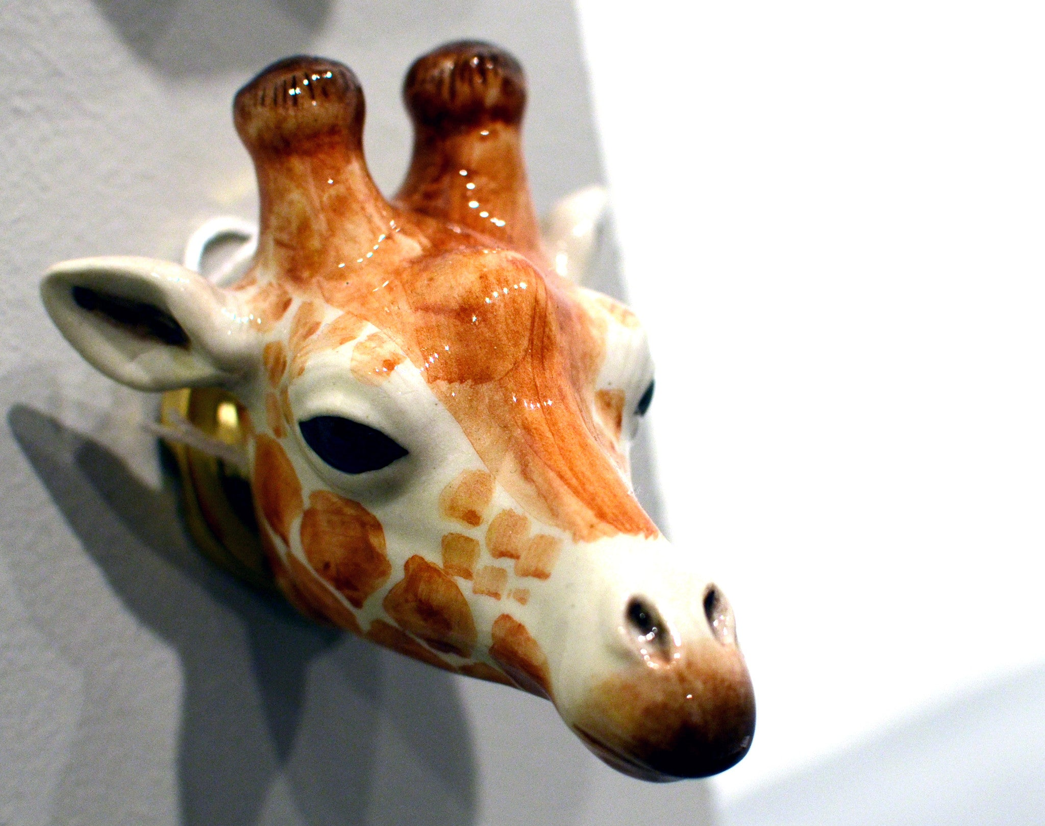 And Mary : Giraffe Doorknob