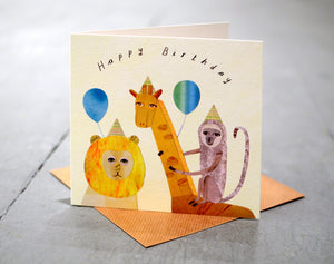 Happy Birthday Card : Paperwhale