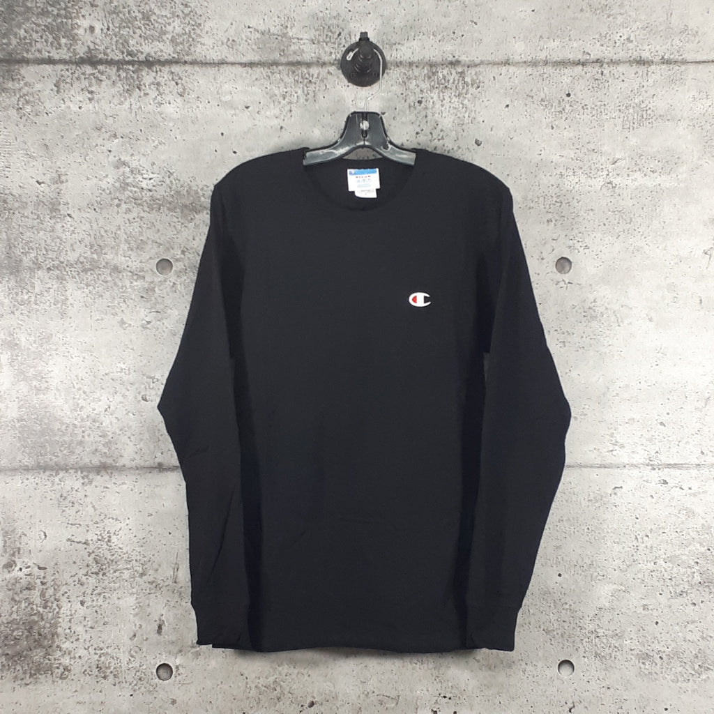 CHAMPION : Heritage Long Sleeve Tee, Black