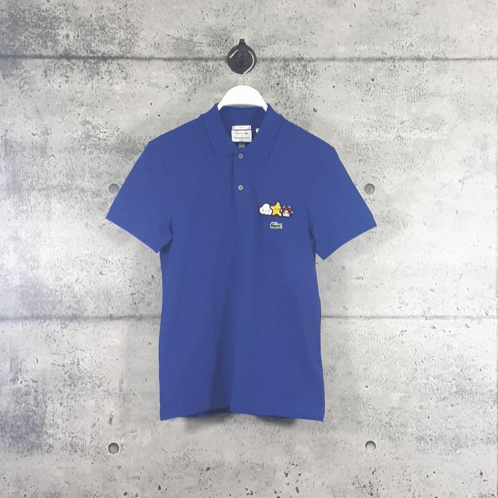 LACOSTE : Unisex, Lacoste x FriendsWithYou, Design Classic Fit Polo Shirt, Blue