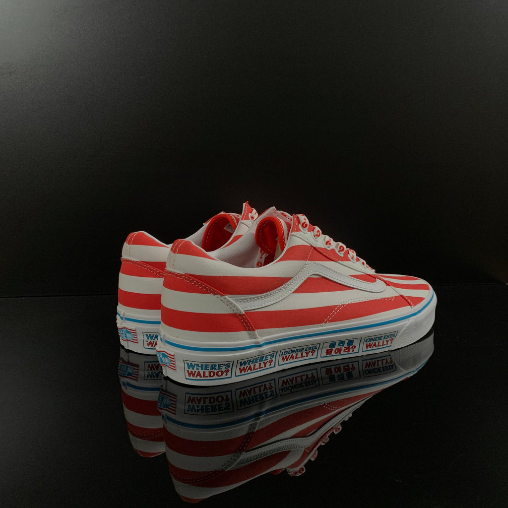 VANS : Unisex Old Skool x Where's Waldo?