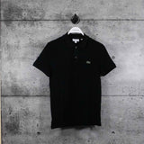LACOSTE : Men's Petit Piqué Slim Fit Polo Shirt, Black