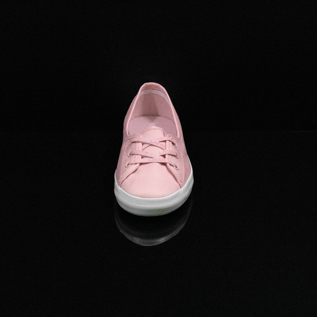 LACOSTE : Women's Ziane Leather Sneakers, Pink