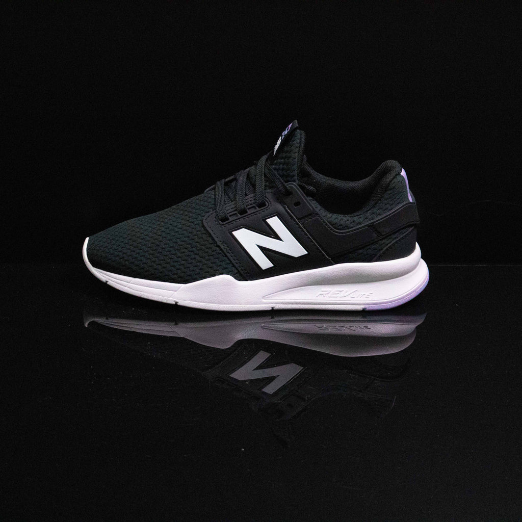NEW BALANCE : Women's NB 247, Black/Purple