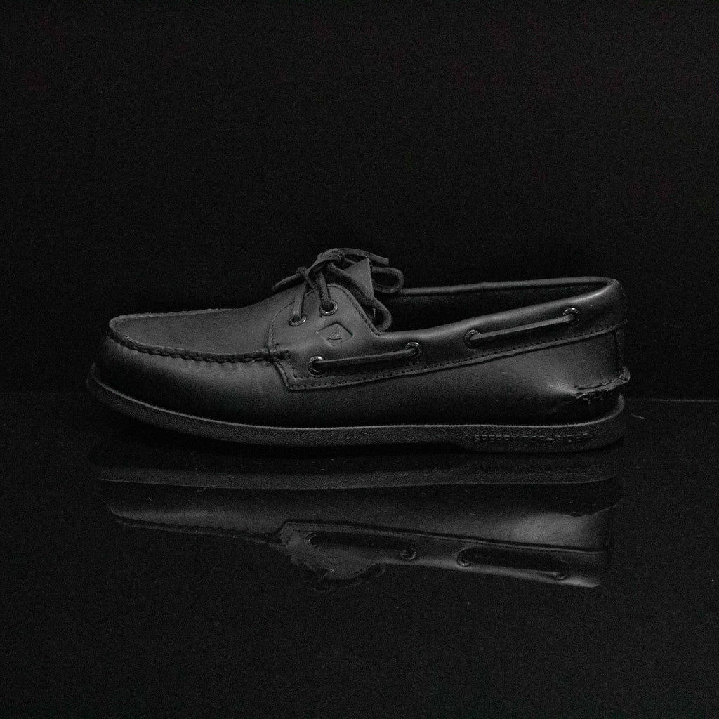 SPERRY : Men's 2 Eye, Black/Black