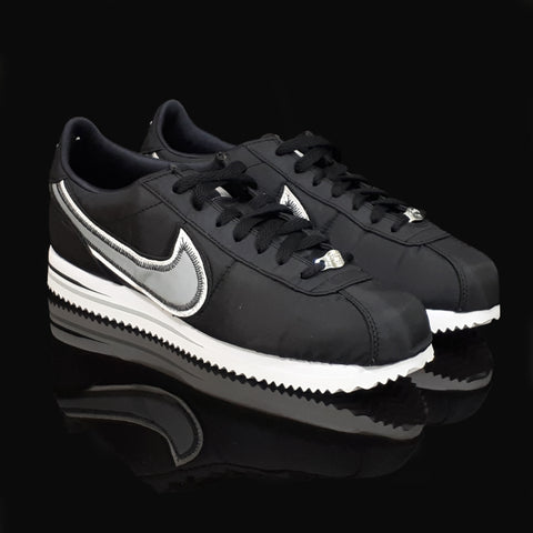 NIKE : Cortez Basic Premium, Black/White/Wolf Grey
