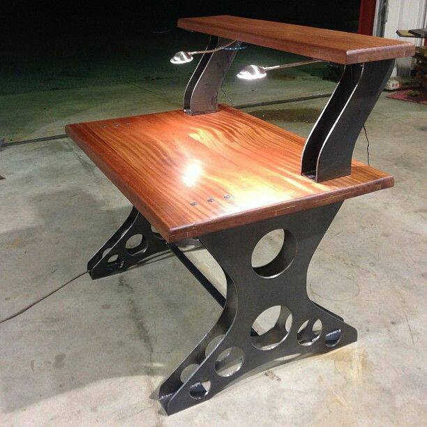 When a Fabricator Builds a Table....  Pinterest Strikes Again!