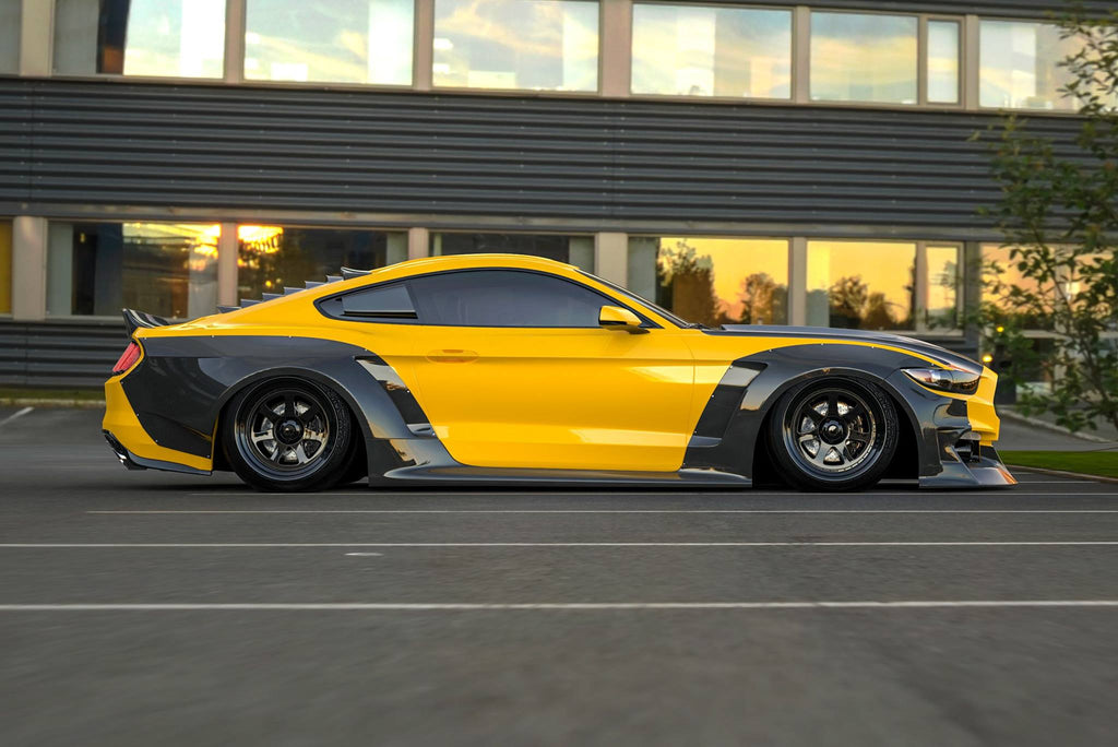 Clinched's New 15-17 Mustang Widebody Kit Unveiled for ...