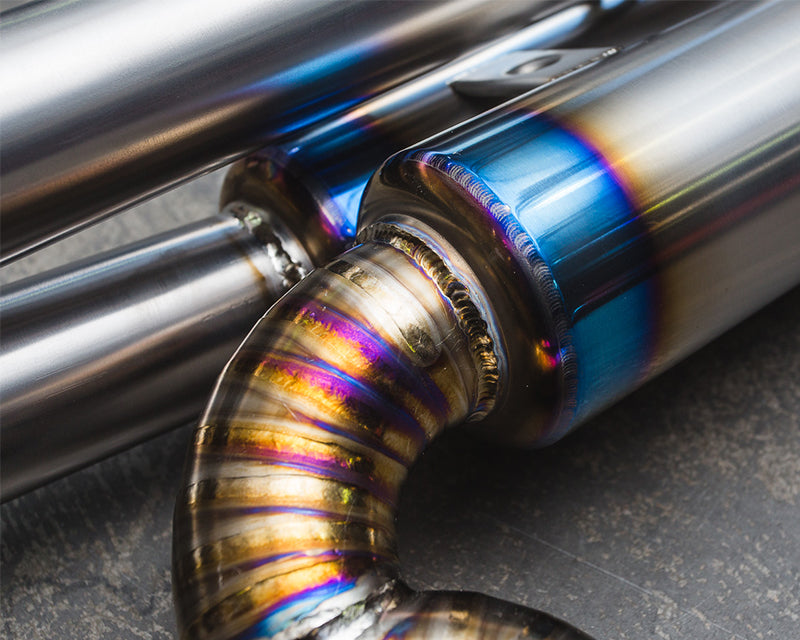 Exhaust Materials:  Stainless vs. Titanium