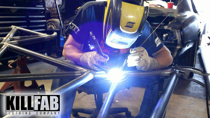 TIG Welding A Chrome Moly Cage In A 2015 Mustang x275 Build