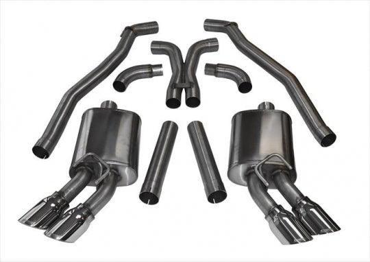 Titanium versus stainless exhaust systems where weight, price, appearance and sound all matter with companies like Agency Power, Ticon Industries, Corsa, Injen, Flowmaster, Spintech and many more making incredible systems out of both materials.