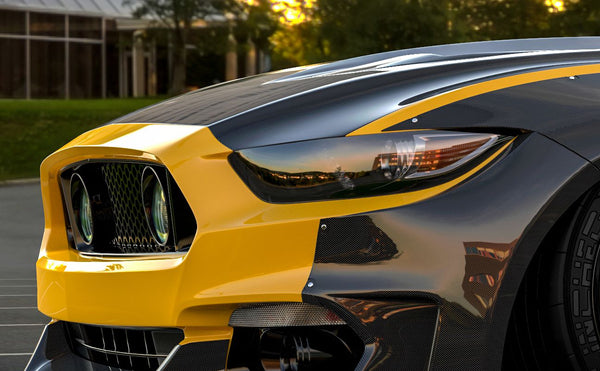 Ford Mustang 2017 Widebody Clinched Widebody Kit Abs Ford Mustang