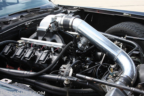 single turbo LS powered Cadillac coupe deville
