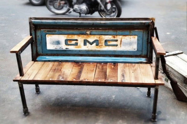 GMC chevy truck tailgate Bench - KillFab Clothing Company