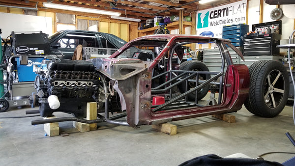 ford mustang hot rod build fox body foxbody bibbster by the fab forums