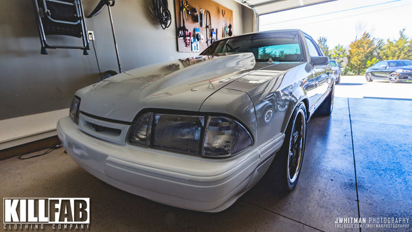 Brandon Hitchins built his Sick_Fox from a 37k mile 1992 Ford Mustang Coupe he found in West Virginia and stuffed a 331ci AFR headed SBF, supercharged with a Procharger D1SC, assembled the interior with TMI, Foxbody Composites carbon fiber, Dakota Digital gauges, a Sparco Steering wheel and threw on a set of Billet Specialties Pro Touring wheels and let it sing through custom 3 inch exhaust.