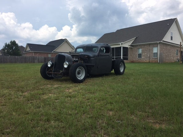 Brad Durham and his 1941 Chevrolet truck rat rod have a 28 thousand follower strong Instagram base that shares his love of old cars, fabricating and family.
