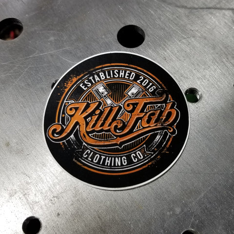 KillFab Clothing Print Decal