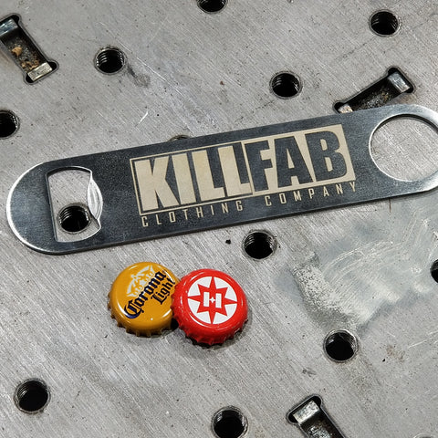 Stainless KillFab Bottle Opener