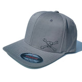 Mr. Deez FlexFit Hat (Gray)