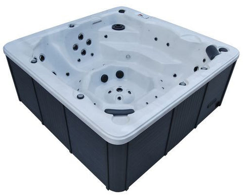 Victoria 44-Jet 7-Person Hot Tub with LED Lighting and Bluetooth Audio
