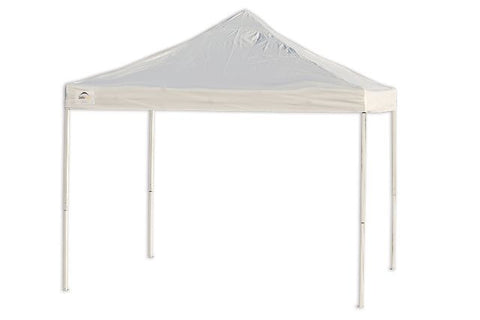 ShelterLogic Pro Series - 10 ft. x 10 ft. Straight Leg /Truss Top w/ Wheeled storage bag