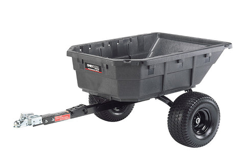 Ohio Steel  12.5 Cu Ft Poly Swivel ATV Cart