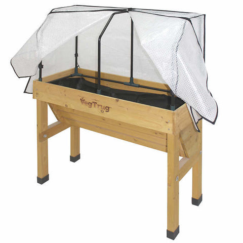 VegTrug Wall Hugger Greenhouse Frame and Cover - Small